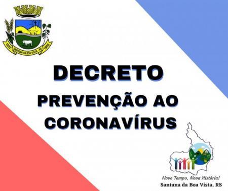 DECRETO 3.262 - CALAMIDADE PÚBLICA - COVID-19